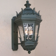Lighting Innovations BPS5833 Traditional Exterior 13  Wide x 23.1  Tall Wall Light Fixture