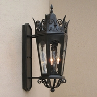 Lighting Innovations BPS7063 Traditional Exterior 14.5  Wide x 29.3  Tall Lighting Sconce