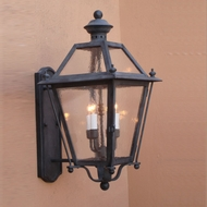 Lighting Innovations BPS9221 Exterior 8 Wide x 16.3 Tall Lamp Sconce