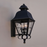 Lighting Innovations BPS9823 Exterior 12.8  Wide x 27.9  Tall Wall Sconce Lighting