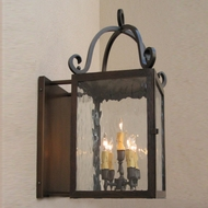 Lighting Innovations BS13EE Outdoor 14.3  Wide x 24.6  Tall Wall Sconce
