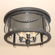 Lighting Innovations C11155 Outdoor 13.6  Wide x 8.1  Tall Overhead Light Fixture