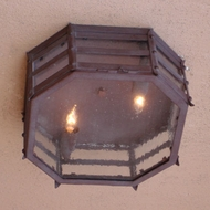 Lighting Innovations C1540 Exterior 8  Wide x 4.5  Tall Ceiling Lighting