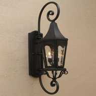 Lighting Innovations DB8003 Exterior 12  Wide x 42  Tall Wall Sconce Lighting