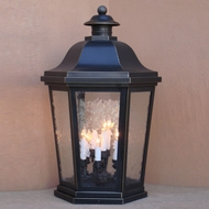 Lighting Innovations FPM1464 Traditional Exterior 16  Wide x 24.8  Tall Pier Mount