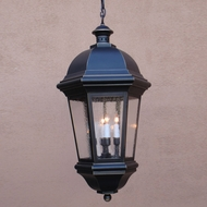 Lighting Innovations H1775 Exterior 17 Wide x 33.3 Tall Pendant Lamp