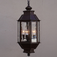 Lighting Innovations H2155 Outdoor 7.6 Wide x 18.9 Tall Ceiling Light Pendant