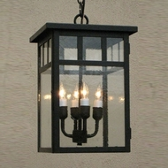 Lighting Innovations H4423 Outdoor 11  Wide x 14.8  Tall Hanging Lamp
