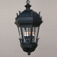Lighting Innovations H5875 Traditional Exterior 17  Wide x 33.3  Tall Pendant Lamp