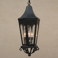Lighting Innovations H8113 Exterior 12  Wide x 29.3  Tall Lighting Pendant