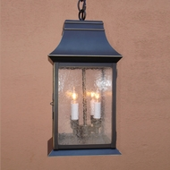 Lighting Innovations H9436 Outdoor 12  Wide x 15.5  Tall Pendant Hanging Light