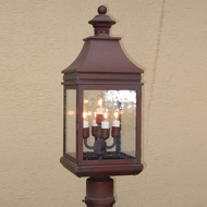 Lighting Innovations P1142 Outdoor 7.9  Wide x 21.6  Tall Lamp Post Light Fixture