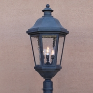 Lighting Innovations P1452 Traditional Outdoor 11 Wide x 23.5 Tall Post Lamp