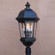 Lighting Innovations P1765 Outdoor 17 Wide x 30 Tall Post Lamp
