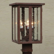 Lighting Innovations P4171 Outdoor 7  Wide x 13.8  Tall Post Lighting