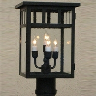 Lighting Innovations P4410 Exterior 5 Wide x 9.8 Tall Post Lamp
