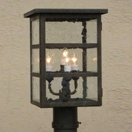 Lighting Innovations P4561 Outdoor 7  Wide x 13.8  Tall Post Lighting Fixture