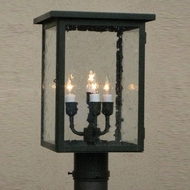 Lighting Innovations P4761 Outdoor 7  Wide x 13.8  Tall Post Lighting