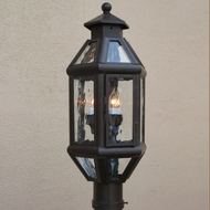 Lighting Innovations P9137 Outdoor 11.6  Wide x 28.3  Tall Lamp Post Light Fixture