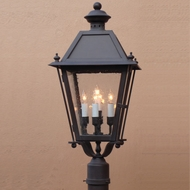 Lighting Innovations P9339 Outdoor 14  Wide x 29.3  Tall Post Light Fixture