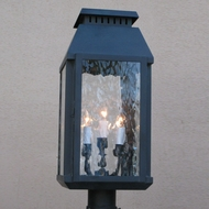 Lighting Innovations P9641 Outdoor 7  Wide x 19  Tall Lamp Post Light Fixture