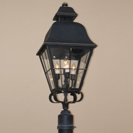 Lighting Innovations P9851 Outdoor 9.6  Wide x 22  Tall Post Lighting Fixture