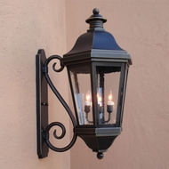 Lighting Innovations S1481 Traditional Outdoor 8.5 Wide x 15.9 Tall Wall Lighting Sconce
