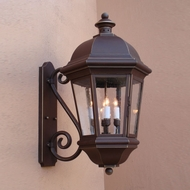 Lighting Innovations S1726 Exterior 19  Wide x 36.4  Tall Wall Sconce