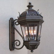 Lighting Innovations S5827 Traditional Outdoor 21  Wide x 41.3  Tall Lighting Sconce