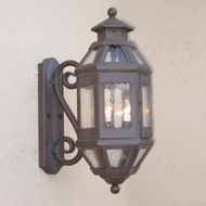 Lighting Innovations S9092 Exterior 9 Wide x 21.3 Tall Lighting Wall Sconce