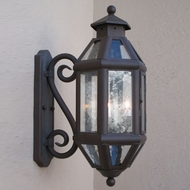 Lighting Innovations S9112 Outdoor 9 Wide x 21.3 Tall Wall Lighting Sconce
