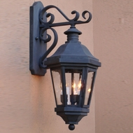 Lighting Innovations TB1411 Traditional Exterior 8.5  Wide x 20  Tall Wall Sconce Lighting