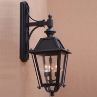 Lighting Innovations TB9317 Outdoor 10 Wide x 27.3 Tall Wall Sconce Lighting
