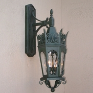 Lighting Innovations TC7051 Traditional Outdoor 9  Wide x 26.1  Tall Wall Sconce