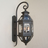 Lighting Innovations TH9002 Outdoor 9 Wide x 26.4 Tall Wall Sconce