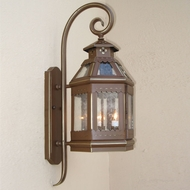 Lighting Innovations TH9080 Outdoor 7.3 Wide x 18.6 Tall Wall Sconce