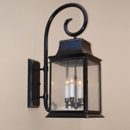 Lighting Innovations TH9512 Exterior 10.1 Wide x 27.6 Tall Wall Mounted Lamp