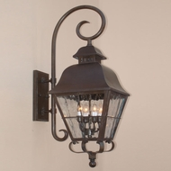 Lighting Innovations TH9812 Exterior 10.8  Wide x 31.8  Tall Lighting Sconce