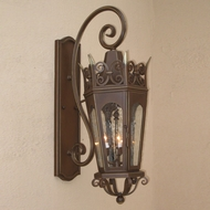 Lighting Innovations TS7021 Traditional Exterior 9  Wide x 24  Tall Wall Light Fixture