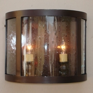 Lighting Innovations WB10128 Exterior 14.5  Wide x 12  Tall Wall Light Sconce