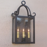 Lighting Innovations WB1317 Exterior 15.3  Wide x 28  Tall Wall Sconce Light
