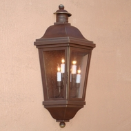 Lighting Innovations WB1431 Traditional Exterior 8.5 Wide x 15.9 Tall Wall Sconce
