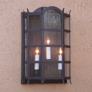 Lighting Innovations WB1583 Outdoor 10.1 Wide x 16.5 Tall Wall Lamp