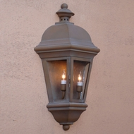Lighting Innovations WB1751 Exterior 9  Wide x 17.1  Tall Lighting Wall Sconce