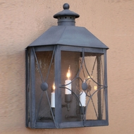 Lighting Innovations WB1814 Exterior 16  Wide x 21  Tall Lamp Sconce