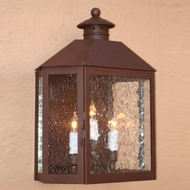 Lighting Innovations WB1914 Exterior 16  Wide x 21  Tall Wall Lighting Fixture