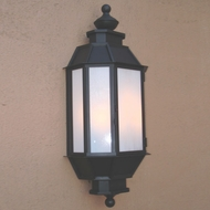 Lighting Innovations WB2126 Exterior 9.6  Wide x 23.3  Tall Wall Sconce Lighting