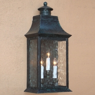 Lighting Innovations WB2406 Outdoor 12  Wide x 17.8  Tall Wall Sconce Light