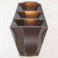 Lighting Innovations WB4710 Modern Outdoor 13 Wide x 17 Tall Sconce Lighting