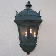 Lighting Innovations WB5851 Traditional Exterior 9  Wide x 17.1  Tall Wall Lighting Fixture